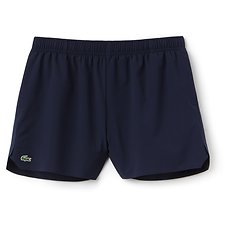 Image of Lacoste NAVY BLUE WOMEN'S TECHNICAL TRAINING SHORTS