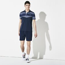Image of Lacoste NAVY BLUE MEN'S BASIC SPORT TRAINING SHORT