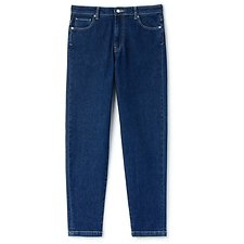 Image of Lacoste MEDIUM BLUE WOMEN'S REGULAR FIT DENIM JEANS