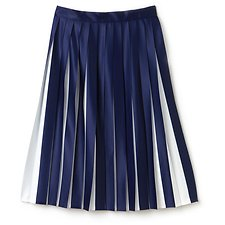 Image of Lacoste METHYLENE/FLOUR PLEATED SKIRT