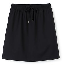 Image of Lacoste DARK NAVY WOMEN'S A LINE SKIRT