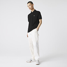 Image of Lacoste BLACK L.12.12 ORIGINAL SHORT SLEEVE POLO
