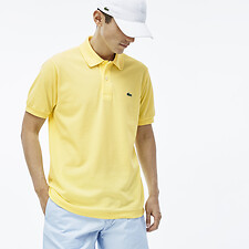 Image of Lacoste YELLOW MEN'S L.12.12 CLASSIC POLO