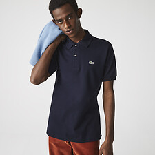 Image of Lacoste NAVY BLUE L.12.12 ORIGINAL SHORT SLEEVE POLO