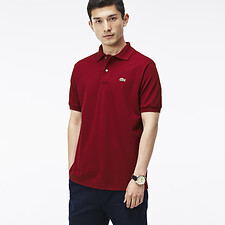 Image of Lacoste BORDEAUX L.12.12 ORIGINAL SHORT SLEEVE POLO