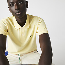 Image of Lacoste NAPOLITAN YELLOW MEN'S L1212 CLASSIC POLO