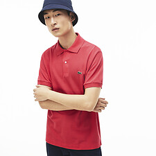 Image of Lacoste SIROP PINK MEN'S L1212 CLASSIC FIT POLO