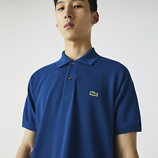 Image of Lacoste RAFFIA MATTING L.12.12 ORIGINAL SHORT SLEEVE POLO