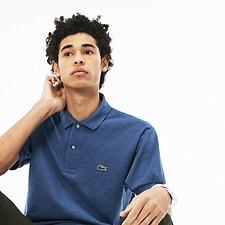 Image of Lacoste CRUISE CHINE MEN'S MARL KNIT L.12.12 POLO
