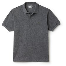 Image of Lacoste ECLIPSE BLUE CHINE MEN'S MARL KNIT L.12.12 POLO