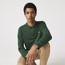 Picture of MEN'S LONG SLEEVE CLASSIC FIT POLO