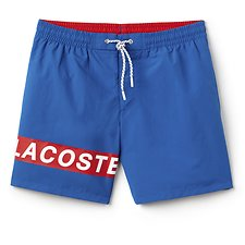 Image of Lacoste MULTI BLOCK LOGO SWIM SHORT
