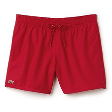 Image of Lacoste RED/RED BASIC SWIM SHORT