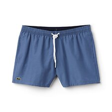 Image of Lacoste KING/NAVY BLUE MEN'S BASIC SWIM SHORT