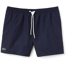 Image of Lacoste NAVY BLUE/KING MEN'S BASIC SWIM SHORT