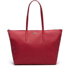 Image of Lacoste VIRTUAL PINK WOMEN'S L.12.12 LARGE SHOPPING BAG