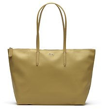 Image of Lacoste PRAIRIE SAND WOMEN'S  L.12.12 LARGE SHOPPING BAG