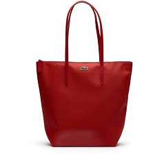 Image of Lacoste HIGH RISK RED WOMEN'S L.12.12 VERTICAL TOTE