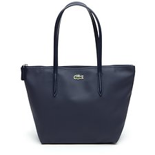Image of Lacoste BLACK WOMEN'S  L.12.12 SMALL SHOPPING BAG