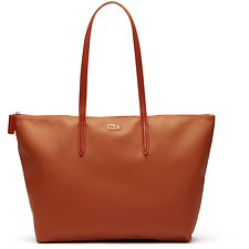 Image of Lacoste POTTER'S CLAY WOMEN'S L.12.12 SMALL SHOPPING BAG
