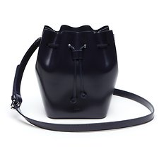 Image of Lacoste PEACOAT WOMEN'S MINI GOLF XSMALL BUCKET BAG