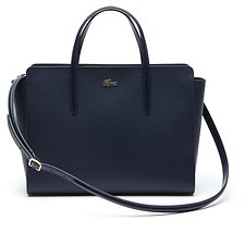 Image of Lacoste BLACK WOMEN'S CHANTACO SHOPPING BAG