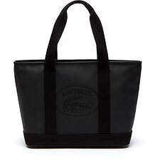 Image of Lacoste BLACK ECLIPSE WOMEN'S CLASSIC M SHOPPINGBAG