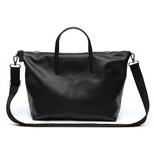 Image of Lacoste BLACK WOMEN'S L.12.12 LIMITED EDITION LARGE SHOPPING BAG