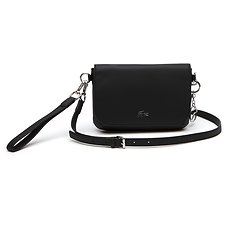 Image of Lacoste BLACK WOMEN'S DAILY CLASSIC S XOVER BAG