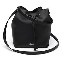 Image of Lacoste BLACK WOMEN'S DAILY CLASSIC BUCKET BAG