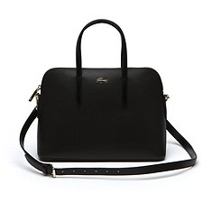 Image of Lacoste BLACK WOMEN'S CHANTACO BUGATI BAG