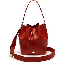 Image of Lacoste ORANGE.COM WOMEN'S CHANTACO BUCKET BAG