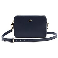 Image of Lacoste PEACOAT WOMEN'S CHANTACO SQUARE CROSSOVER BAG