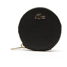 Image of Lacoste BLACK WOMEN'S CHANTACO COIN PURSE