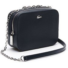 Image of Lacoste TOTAL ECLIPSE WOMEN'S CHANTACO XSMALL CROSSOVER BAG WITH CHAIN