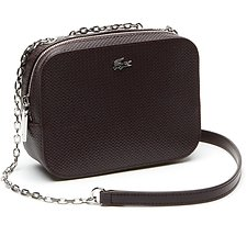 Image of Lacoste WINETASTING WOMEN'S CHANTACO XSMALL CROSSOVER BAG WITH CHAIN