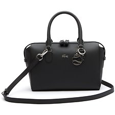 Image of Lacoste BLACK WOMEN'S DAILY CLASSIC BOSTON BAG