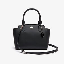 Image of Lacoste BLACK WOMEN'S DAILY CLASSIC MEDIUM SHOPPING BAG