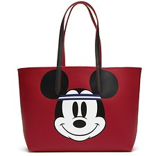 Image of Lacoste MICKEY RED WOMEN'S DISNEY SHOPPING BAG