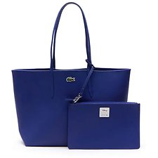 Image of Lacoste MINNIE BLUE WOMEN'S DISNEY SHOPPING BAG