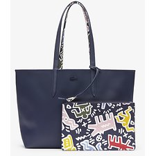 Image of Lacoste K H MULTICO WOMEN'S KEITH HARING  ANNA REVERSIBLE TOTE BAG