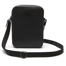 Image of Lacoste BLACK MEN'S CHANTACO VERTICAL CAMERA BAG