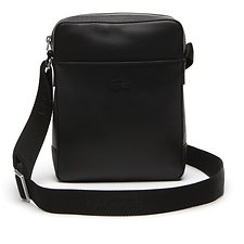 Image of Lacoste BLACK MEN'S FULL ACE VERTICAL CAMERA BAG