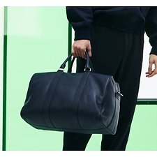 Image of Lacoste PEACOAT MEN'S FASHION SHOW OVERNIGHT BAG
