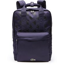 Image of Lacoste MICKEY ALLOVER MEN'S MICKEY MOUSE SQUARE BACKPACK
