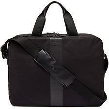 Image of Lacoste BLACK MEN'S URBAN TREK COMPUTER BAG