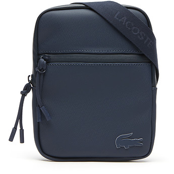 Image of Lacoste  MEN'S L.12.12 CONCEPT SMALL FLAT CROSSOVER BAG