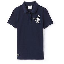 Image of Lacoste NAVY BLUE/NAVY BLUE WOMEN'S MINNIE MOUSE POLO