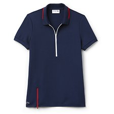Picture of MADE IN FRANCE ZIP NECK POLO