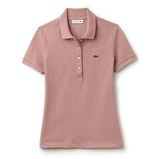 Picture of WOMEN'S RETRO FIT POLO WITH TONAL CROC